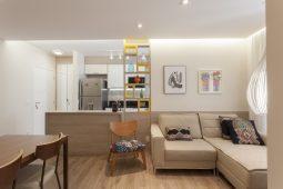 Praticidade de um apartamento compacto