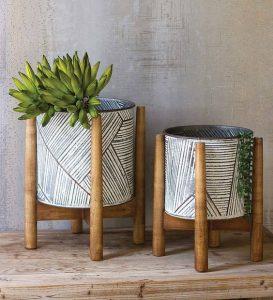 Imagem de decoração sustentável feita com bambus, tendência em decoração em 2020